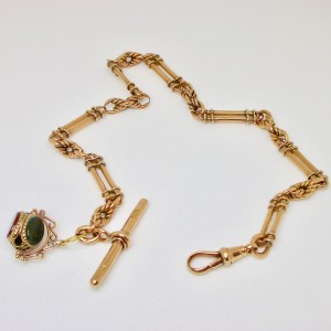 English pocket watch chain