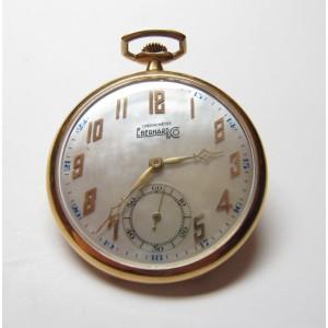 Eberhard & Co. Pocket watch, Deco chronometer
