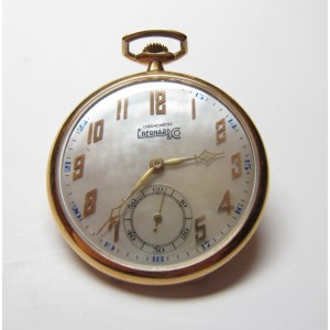 Eberhard & Co. Pocket watch, Deco chronometer
