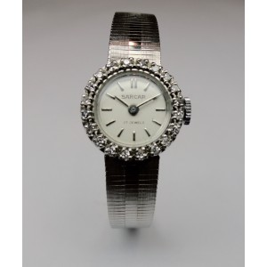 White gold and diamonds ladies watch